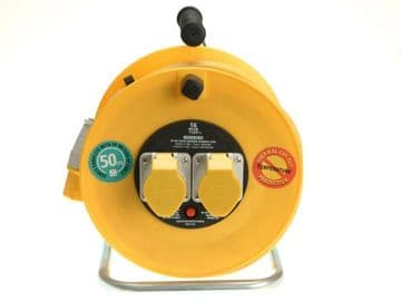 Cable Reel 110V 16A Thermal Cut-Out 50m
